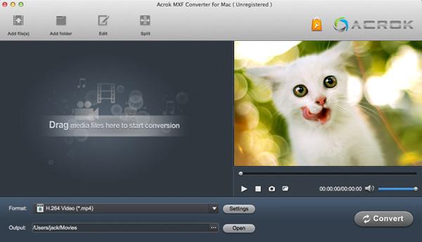 MXF player for Mac free download-play MXF on Mac